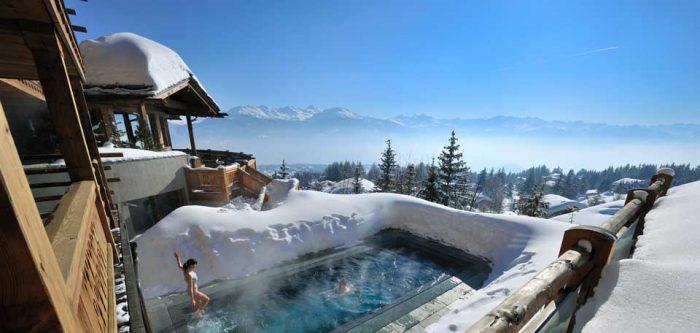 LeCrans Hotel, Switserland
