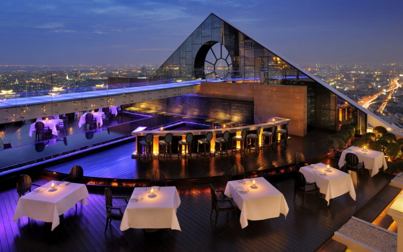 Lebua Hotel at State Tower, Bangkok