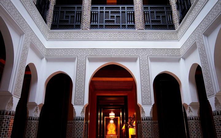 hotel la mamounia marrakech trends travel. Black Bedroom Furniture Sets. Home Design Ideas